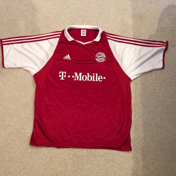 a720c2b4e adidas Other   Fc Bayern Munich 200304 Soccer Jersey   Poshmark